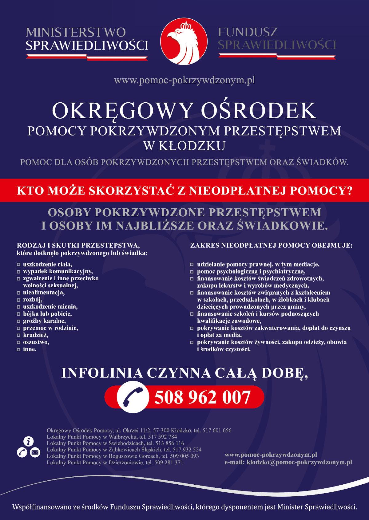 Pomoc dla osób pokrzywdzonych