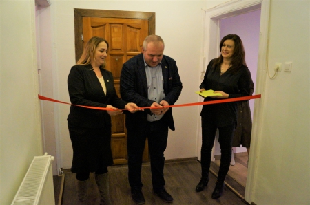 W dniu 23.12.2019 r. zostało oddane do użytku Mieszkanie Chronione