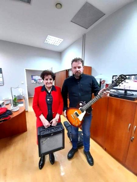 Pan Łukasz Kazek odwiedził powiatowe placówki opiekuńczo-wychowawcze w Nowym