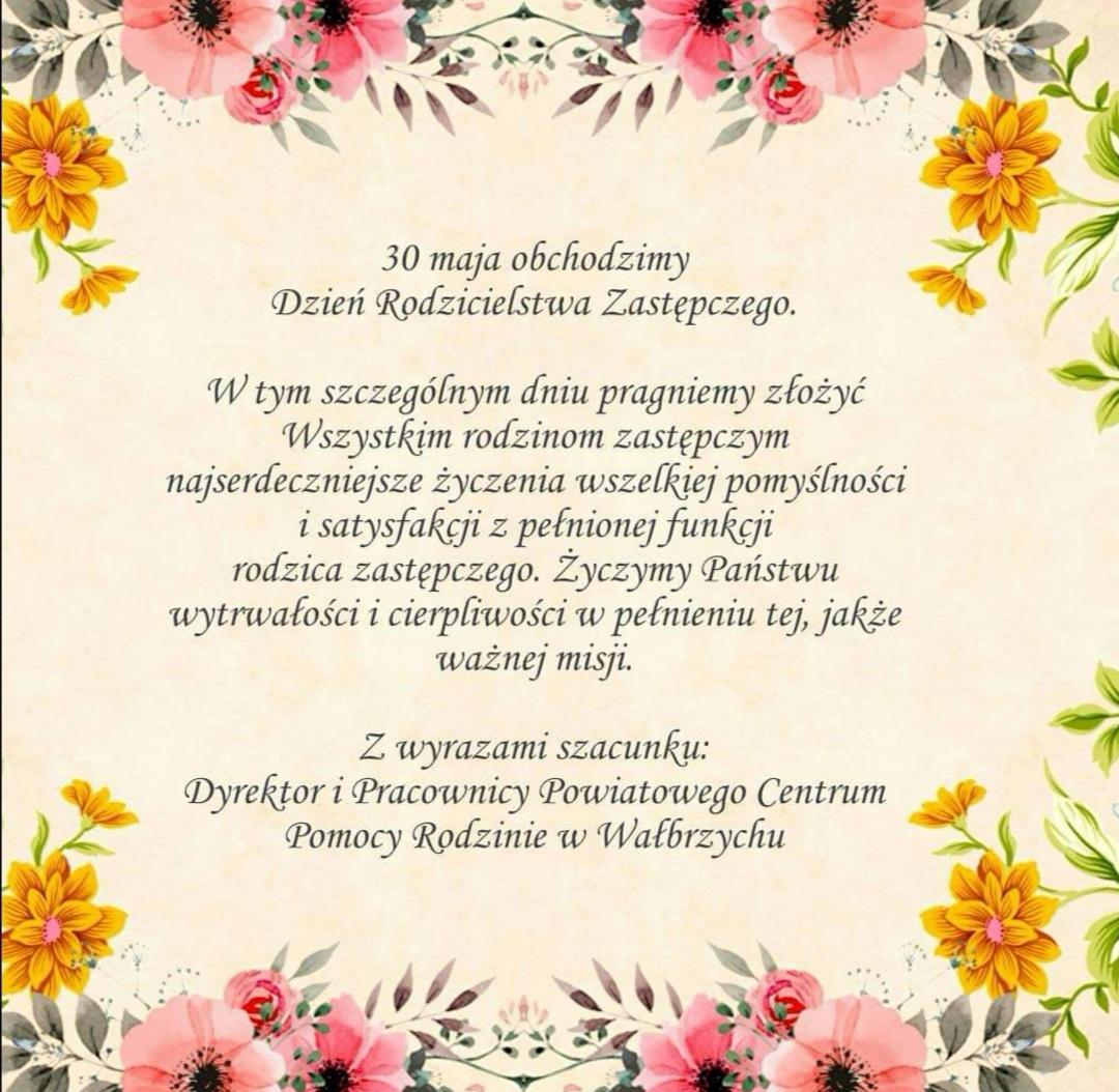 30 maja świętujemy Dzień Rodzicielstwa Zastępczego